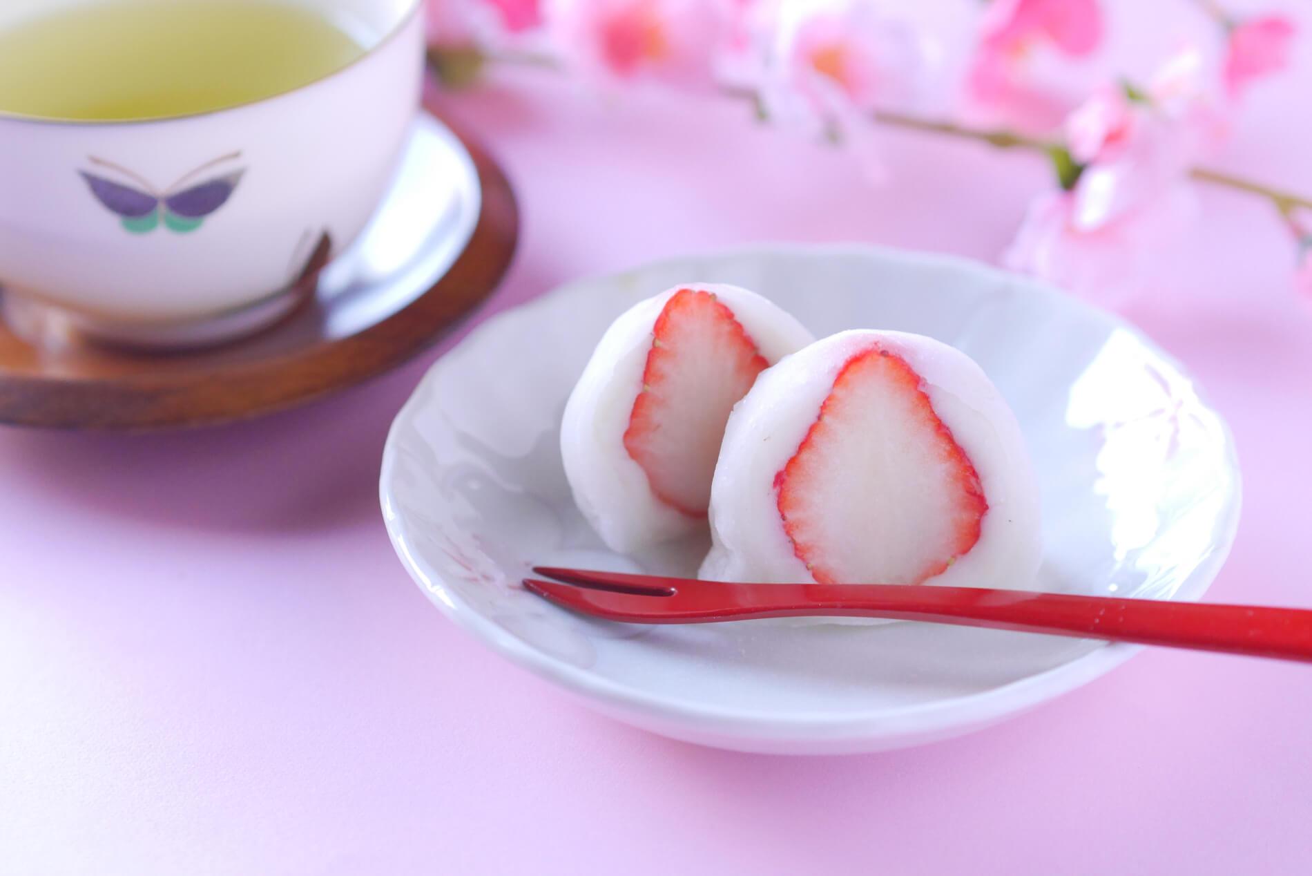 イチゴ大福を手作りすると固くなる?時間が経ってもやわらかい作り方レシピは?