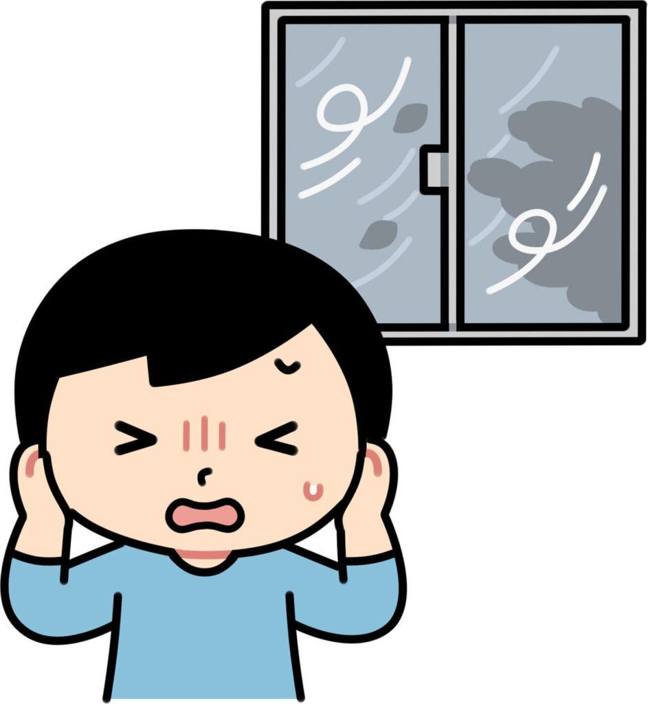 窓ガラスが割れるのはどのくらいの風速?