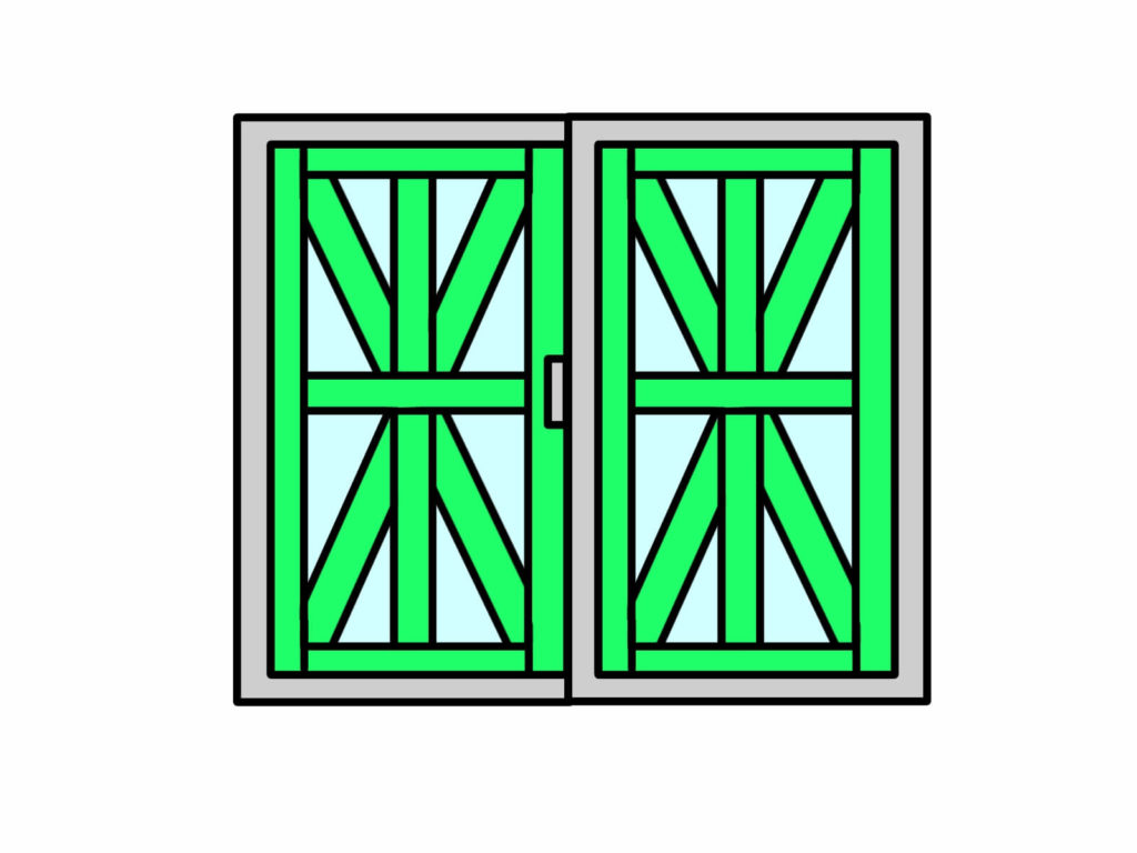 台風での窓ガラスが割れる前にできる対策は?