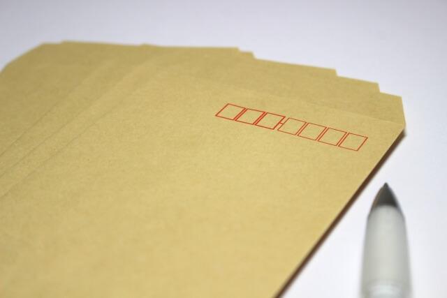診断書を郵送する封筒の書き方は?