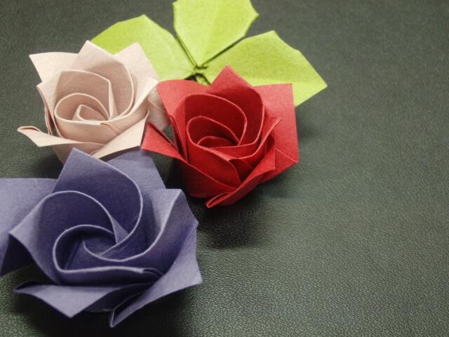 母の日に折り紙でバラを簡単に作る方法は? まとめ