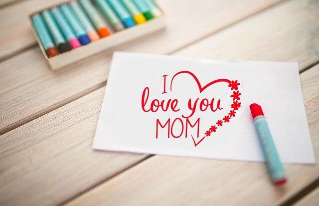 母の日にポップを手書きで作る方法! まとめ