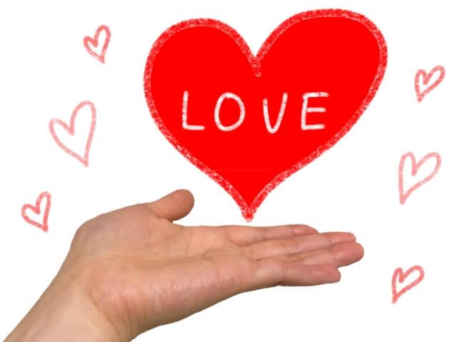 恋愛二字熟語まとめ!愛を用いる二字熟語は?