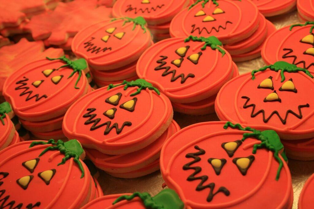 ハロウィンクッキーの市販お菓子!